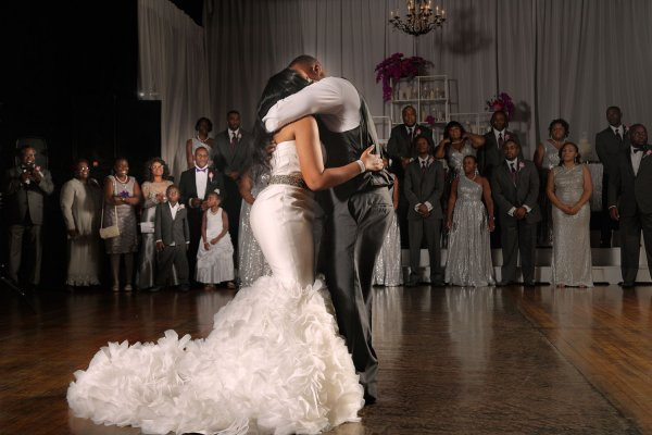 A Post First Dance Embrace